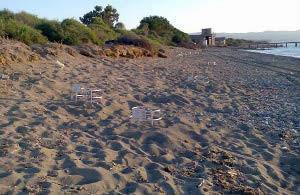 A huge golf resort has been licensed too close to the protected nesting beach in Limni, Cyprus.