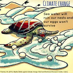 Sea Turtles and Sea Level Rise - Meme 1