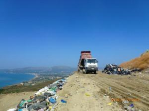 The oversaturated and illegal landfill within the ZNMP was still operating last summer.