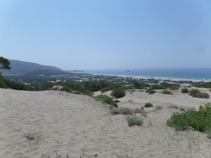 Patara, Turkey: Unique dunes and sea turtle nesting beach threatened by lack of management and new developments.